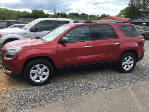 2014 GMC Acadia for sale at M&L Auto, LLC in Clyde NC