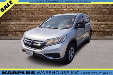 2016 Honda CR-V for sale at Karplus Warehouse in Pacoima CA