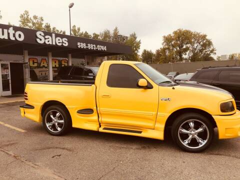 2003 Ford F-150 for sale at Daniel Auto Sales inc in Clinton Township MI