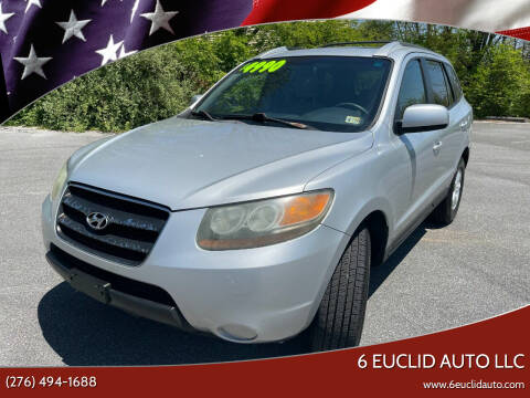 2007 Hyundai Santa Fe for sale at 6 Euclid Auto LLC in Bristol VA