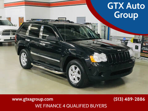 2010 Jeep Grand Cherokee for sale at GTX Auto Group in West Chester OH
