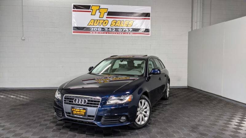 2009 Audi A4 for sale at TT Auto Sales LLC. in Boise ID