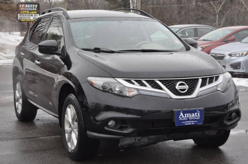 2013 Nissan Murano for sale at Amati Auto Group in Hooksett NH