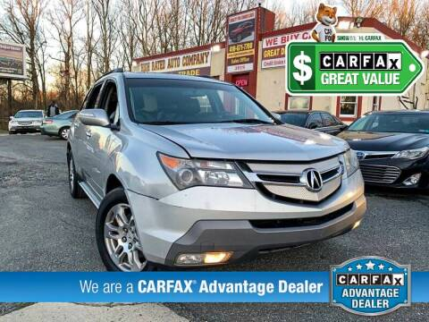 2009 Acura MDX for sale at High Rated Auto Company in Abingdon MD