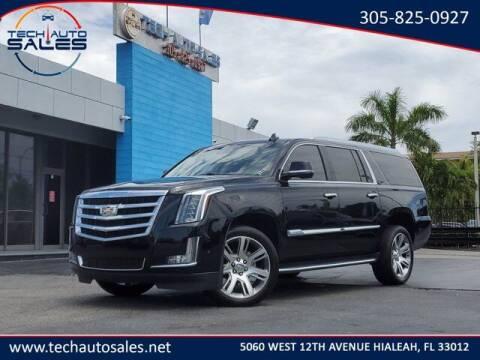 2017 Cadillac Escalade ESV for sale at Tech Auto Sales in Hialeah FL
