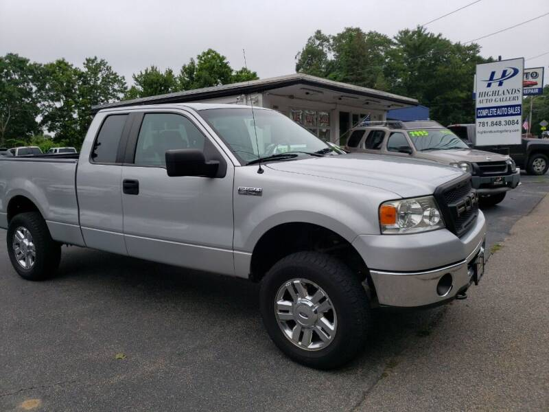 2008 Ford F-150 for sale at Highlands Auto Gallery in Braintree MA