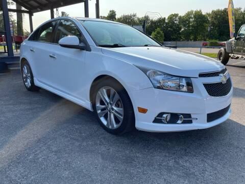 2014 Chevrolet Cruze for sale at QUALITY PREOWNED AUTO in Houston TX