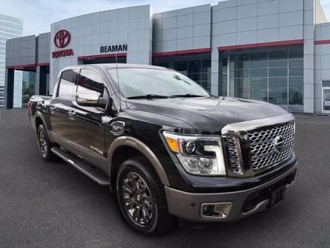 2017 Nissan Titan for sale at BEAMAN TOYOTA in Nashville TN