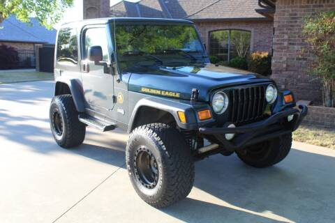 2006 Jeep Wrangler for sale at CANTWEIGHT CLASSICS in Maysville OK