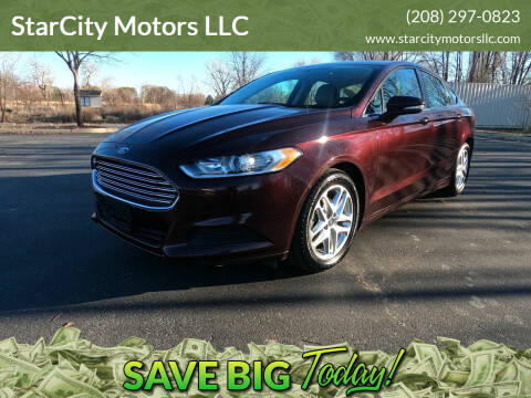 2013 Ford Fusion for sale at StarCity Motors LLC in Garden City ID
