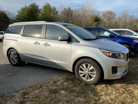 2016 Kia Sedona for sale at Downeast Auto Inc in South Waterboro ME