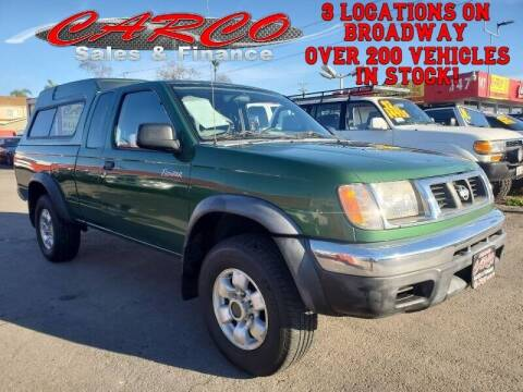 1998 Nissan Frontier for sale at CARCO SALES & FINANCE #2 in Chula Vista CA