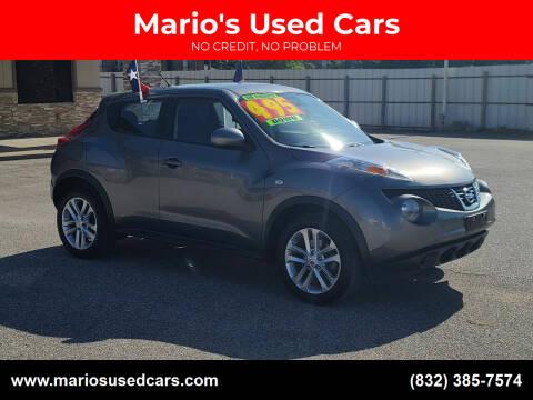 2013 Nissan JUKE for sale at Mario's Used Cars - Pasadena Location in Pasadena TX