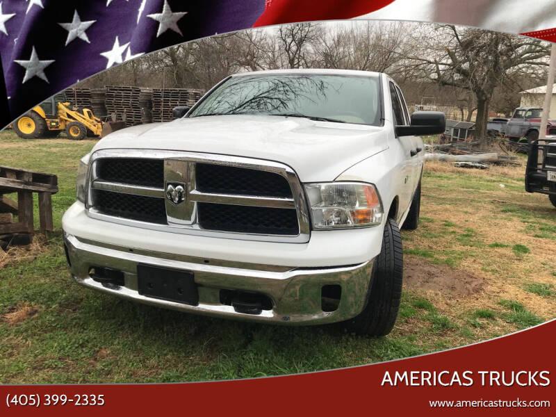 2010 Dodge Ram Pickup 1500 for sale at Americas Trucks in Jones OK