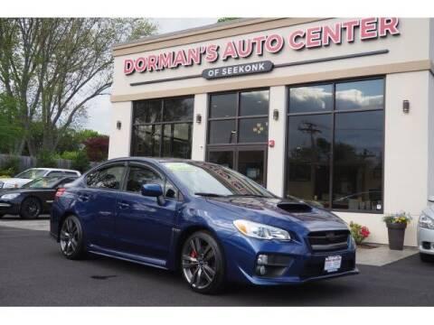 2017 Subaru WRX for sale at DORMANS AUTO CENTER OF SEEKONK in Seekonk MA