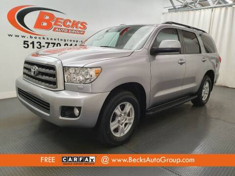 2012 Toyota Sequoia for sale at Becks Auto Group in Mason OH