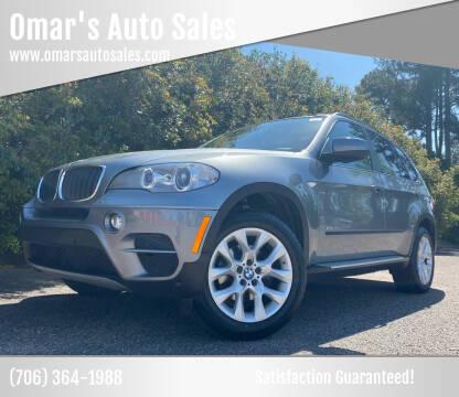 2013 BMW X5 for sale at Omar's Auto Sales in Martinez GA