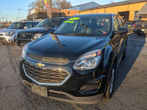 2016 Chevrolet Equinox for sale at Northern Lights Auto Service Inc in Mattydale NY