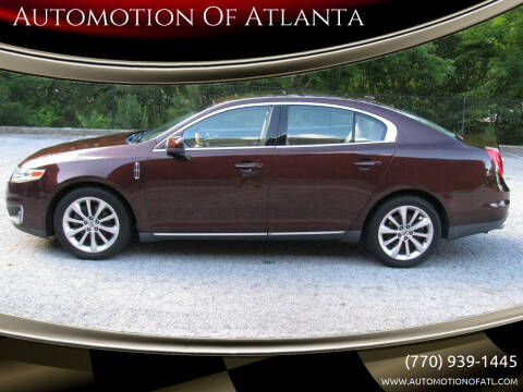 2009 Lincoln MKS for sale at Automotion Of Atlanta in Conyers GA