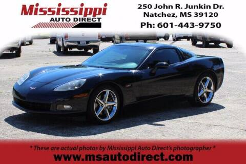 2011 Chevrolet Corvette for sale at Auto Group South - Mississippi Auto Direct in Natchez MS