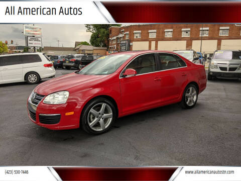 2010 Volkswagen Jetta for sale at All American Autos in Kingsport TN