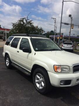 2003 Nissan Pathfinder for sale at Mike Hunter Auto Sales in Terre Haute IN