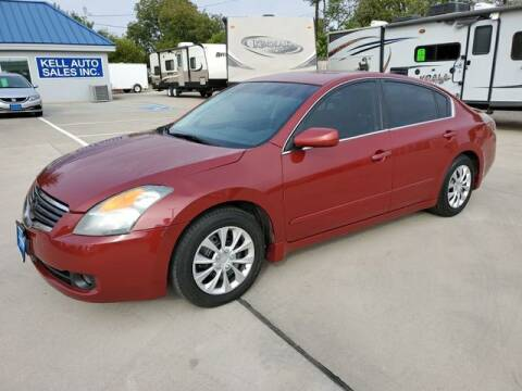 2008 Nissan Altima for sale at Kell Auto Sales, Inc - Grace Street in Wichita Falls TX