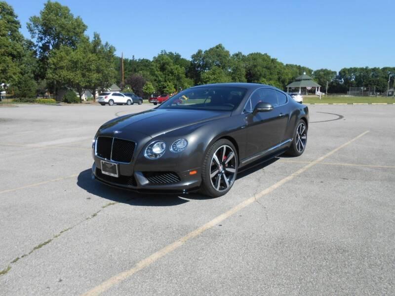 2014 Bentley Continental for sale at Bentley Zionsville in Zionsville IN