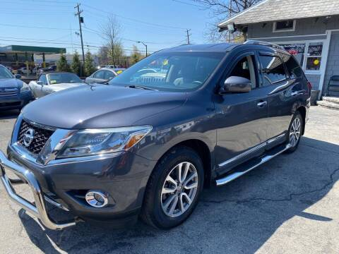 2013 Nissan Pathfinder for sale at Mass Auto Exchange in Framingham MA