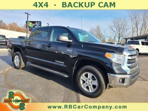 2017 Toyota Tundra for sale at R & B CAR CO - R&B CAR COMPANY in Columbia City IN