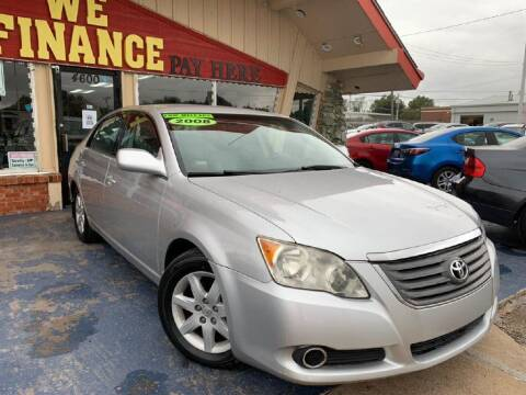 2008 Toyota Avalon for sale at Caspian Auto Sales in Oklahoma City OK
