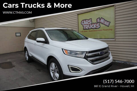 2015 Ford Edge for sale at Cars Trucks & More in Howell MI
