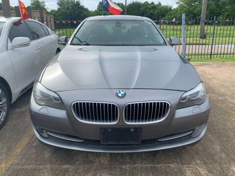 2011 BMW 5 Series for sale at 1st Stop Auto in Houston TX