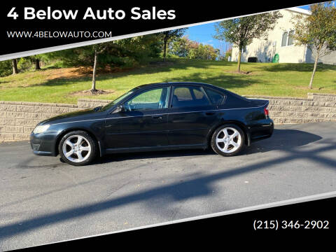 2008 Subaru Legacy for sale at 4 Below Auto Sales in Willow Grove PA