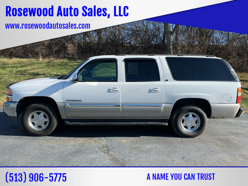 2004 GMC Yukon XL for sale at Rosewood Auto Sales, LLC in Hamilton OH
