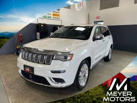 2018 Jeep Grand Cherokee for sale at Meyer Motors in Plymouth WI