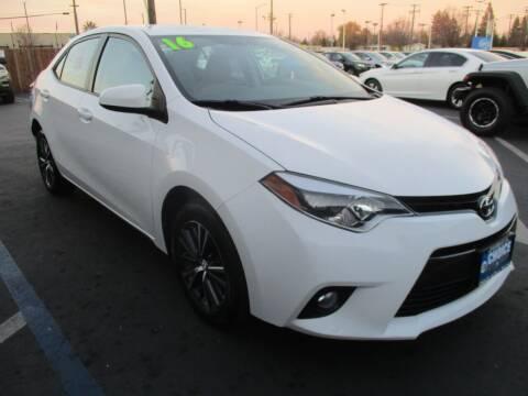 2016 Toyota Corolla for sale at Choice Auto & Truck in Sacramento CA