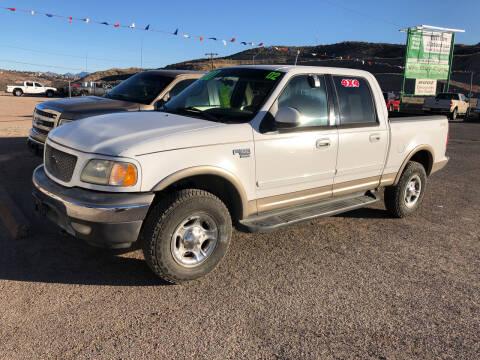 2002 Ford F-150 for sale at Hilltop Motors in Globe AZ