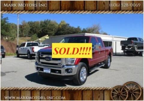 2015 Ford F-250 Super Duty for sale at Mark Motors Inc in Gray KY