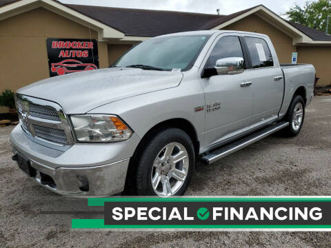 2017 RAM Ram Pickup 1500 for sale at Brocker Autos in Humble TX