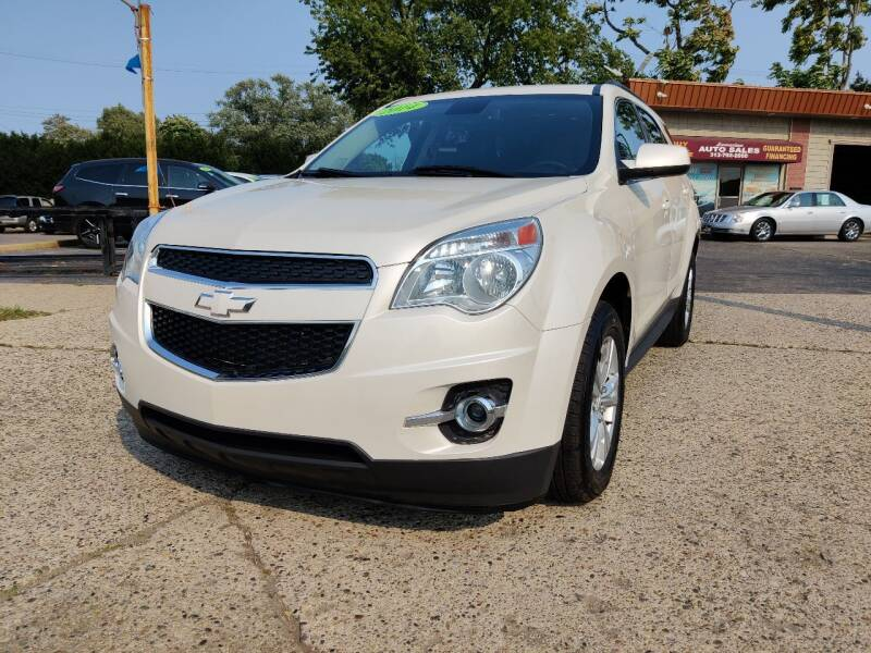 2014 Chevrolet Equinox for sale at Lamarina Auto Sales in Dearborn Heights MI