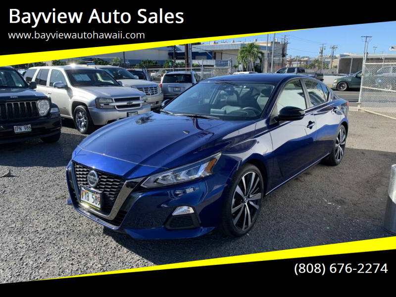 2020 Nissan Altima for sale at Bayview Auto Sales in Waipahu HI