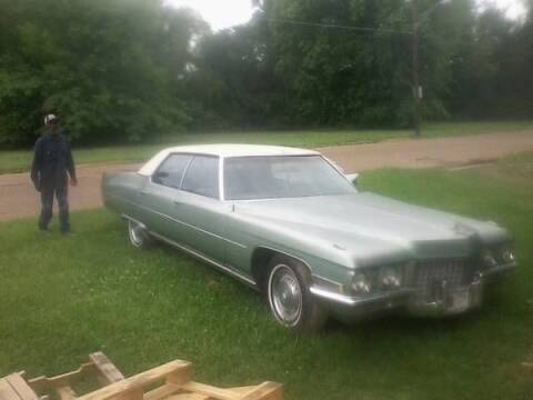 1971 Cadillac DeVille for sale at Haggle Me Classics in Hobart IN