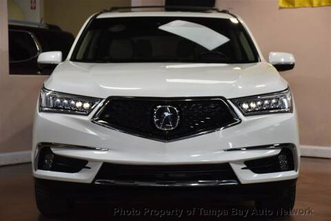 2017 Acura MDX for sale at Tampa Bay AutoNetwork in Tampa FL