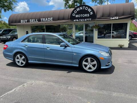 2012 Mercedes-Benz E-Class for sale at Downtown Motors in Macon GA