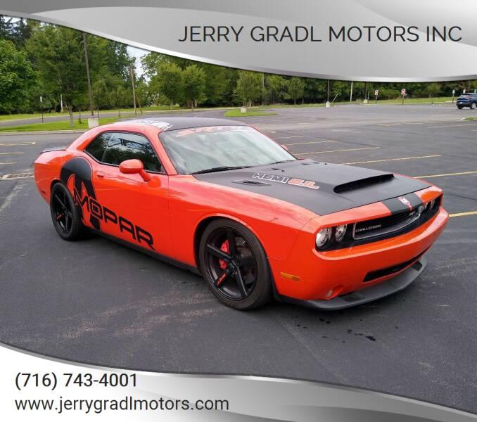 2009 Dodge Challenger for sale at JERRY GRADL MOTORS INC in North Tonawanda NY