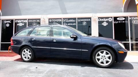2003 Mercedes-Benz C-Class for sale at Car Depot in Miramar FL