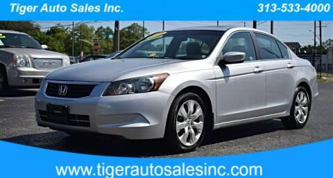 2010 Honda Accord for sale at TIGER AUTO SALES INC in Redford MI