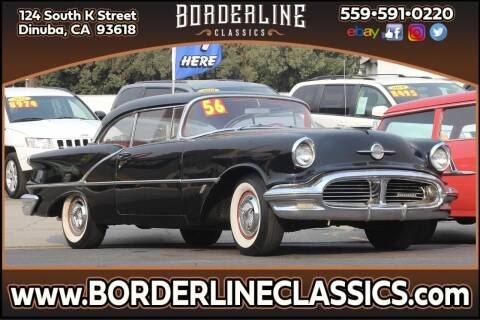 1956 Oldsmobile Super 88 for sale at Borderline Classics in Dinuba CA