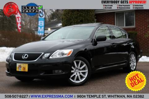 2007 Lexus GS 350 for sale at Auto Sales Express in Whitman MA